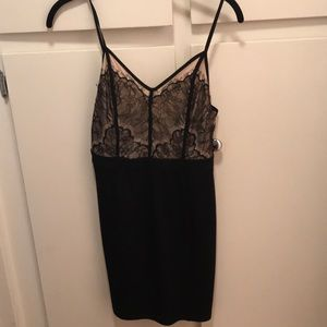 Astr Dresses - Upper lace mini dress